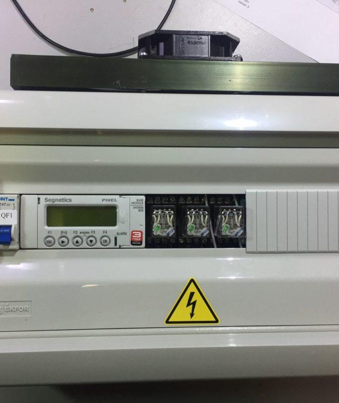 Шкаф управления приточной вентиляцией с водяным нагревателем
